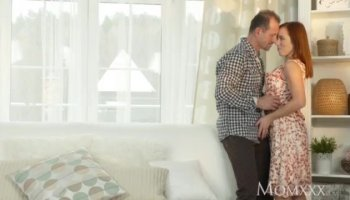 Milf 3way with her stepdaughter and BF