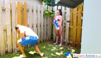 Taboo StepBrother Seduction with MANDY FLORES